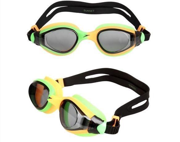 d761b5b25 Óculos De Natação Competição Frete Grátis Speedo Unisex - R  80