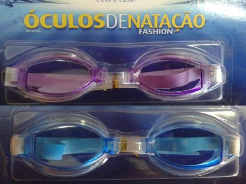 óculos de natação fashion infantil com ajustes  regulagem