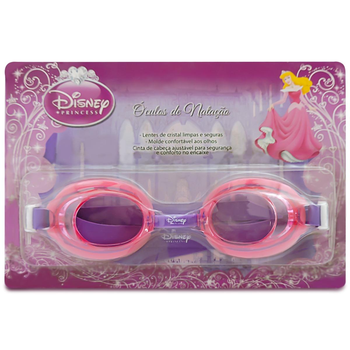 be2d3faa4 óculos de natação infantil princesa disney lentes de cristal. Carregando  zoom.