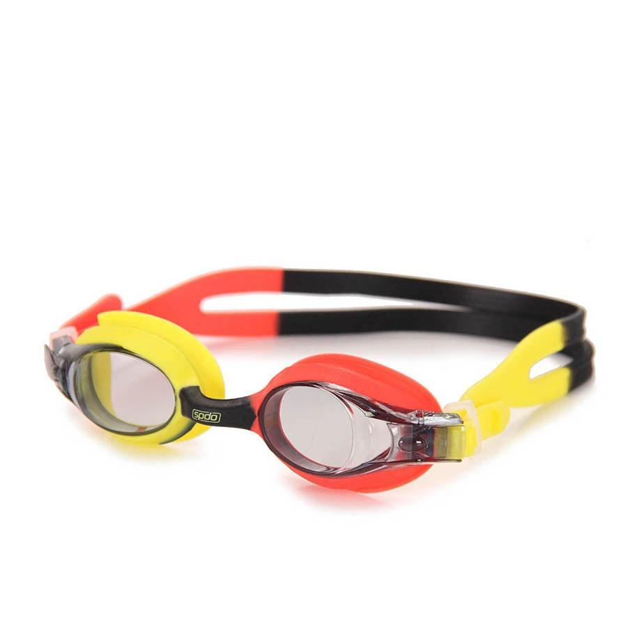 ffba42e8b óculos de natação infantil speedo quick jr - vermelho u. Carregando zoom.