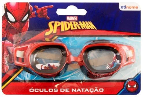 5bad92757 Óculos De Natação Máscara P  Mergulho - Homem Aranha - R  22