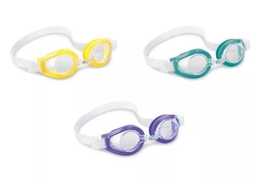 óculos de natação mergulho intex 55602