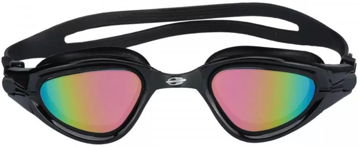 4ba7f72612c72 Óculos De Natação Mormaii Atlhon Preto Espelhado Proteção Uv - R  84,90 em  Mercado Livre