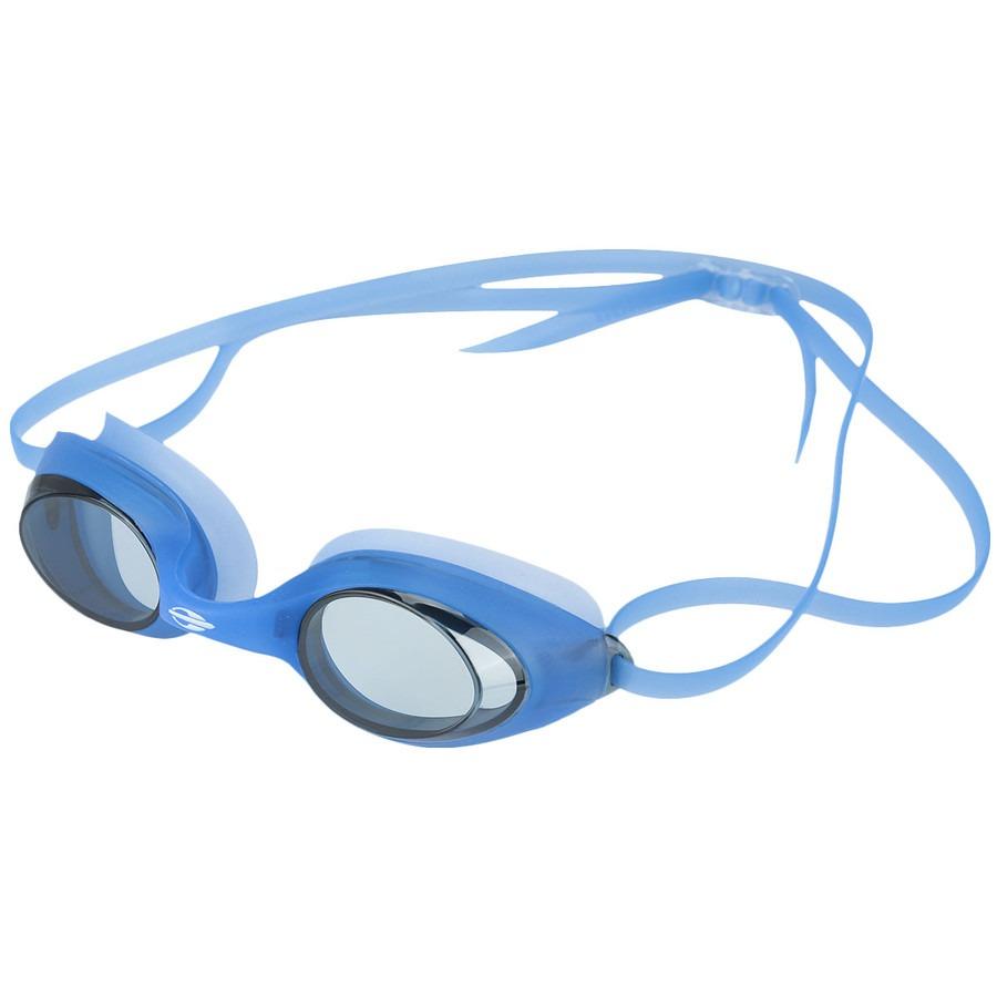 óculos de natação piscina mormaii snap azul e fumê. Carregando zoom. 5953d9482c62b