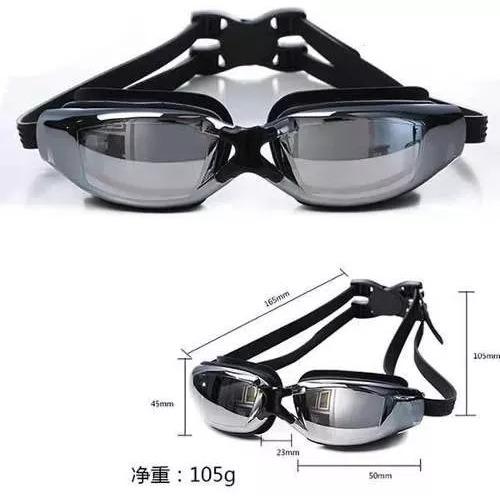 068430543 óculos de natação profissional espelhado antiembaçante a. 5 Fotos