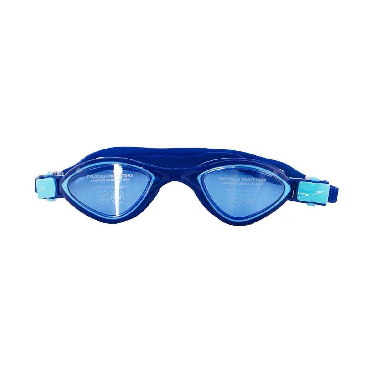2afb74a08053e Óculos De Natação Speedo Avatar - Azul Marinho - R  113,39 em ...