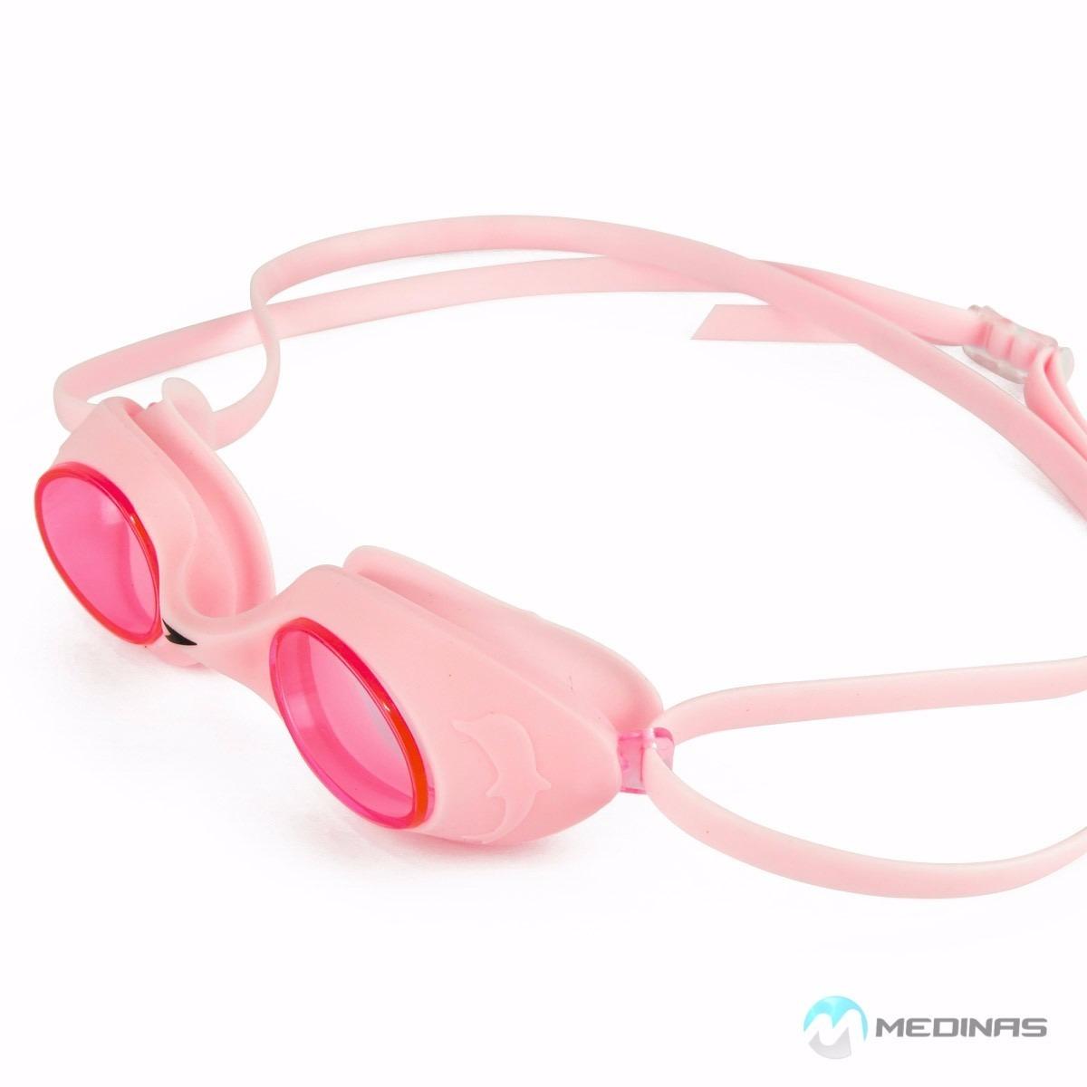 c38ecb1c0e1b0 Óculos De Natação Speedo - Flipper - Rosa - R  39,00 em Mercado Livre