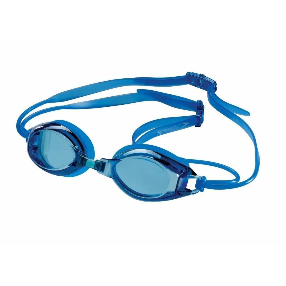 e39f808a6 óculos de natação speedo jr velocity azul. Carregando zoom.