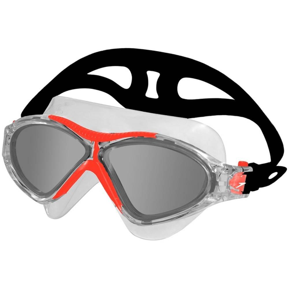 Óculos De Natação Speedo Omega Vermelho Fume - R  104,00 em Mercado ... 71f24ec9d0