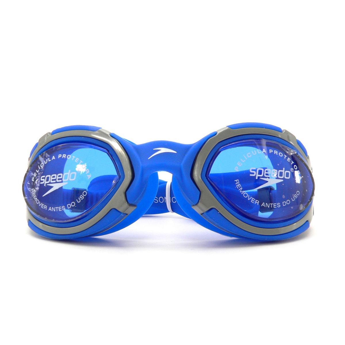 Óculos De Natação Speedo Sonic - Azul - R  64,00 em Mercado Livre 8423572316