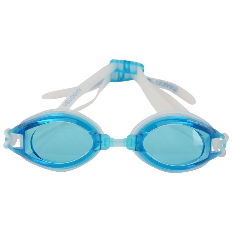 ada01c40b óculos de natação speedo velocity azul. Carregando zoom.