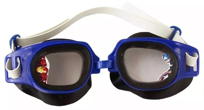 Óculos De Natação Splash Avengers Vingadores Infantil - R  23,99 em ... 948f56ee27