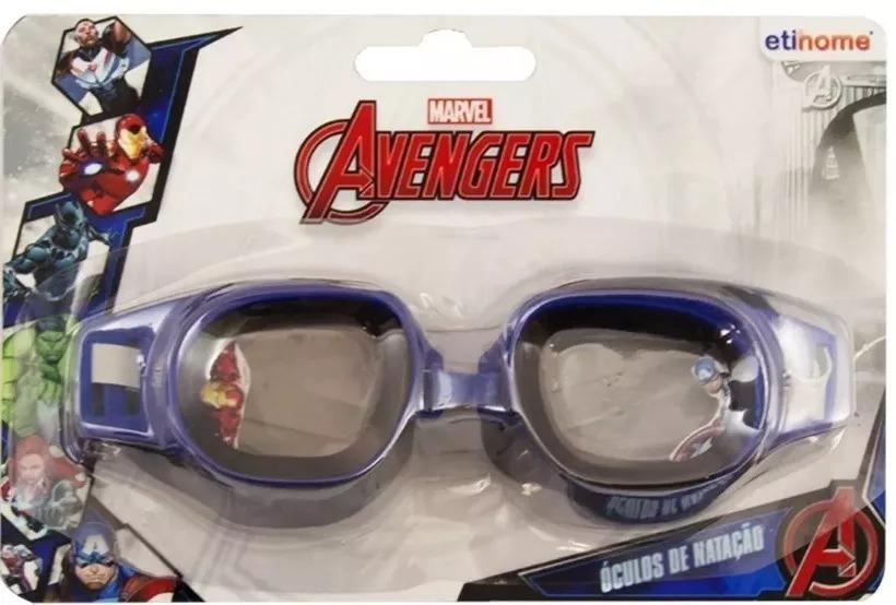 Óculos De Natação Splash Avengers Vingadores Infantil - R  23,99 em Mercado  Livre dfd8b00704