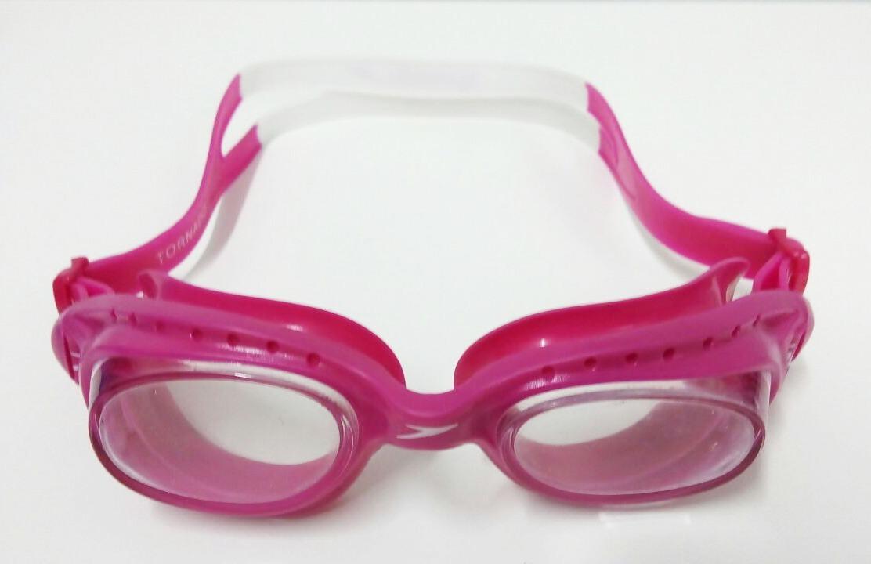 61851942f óculos de natação tornado speedo rosa e branco. Carregando zoom.