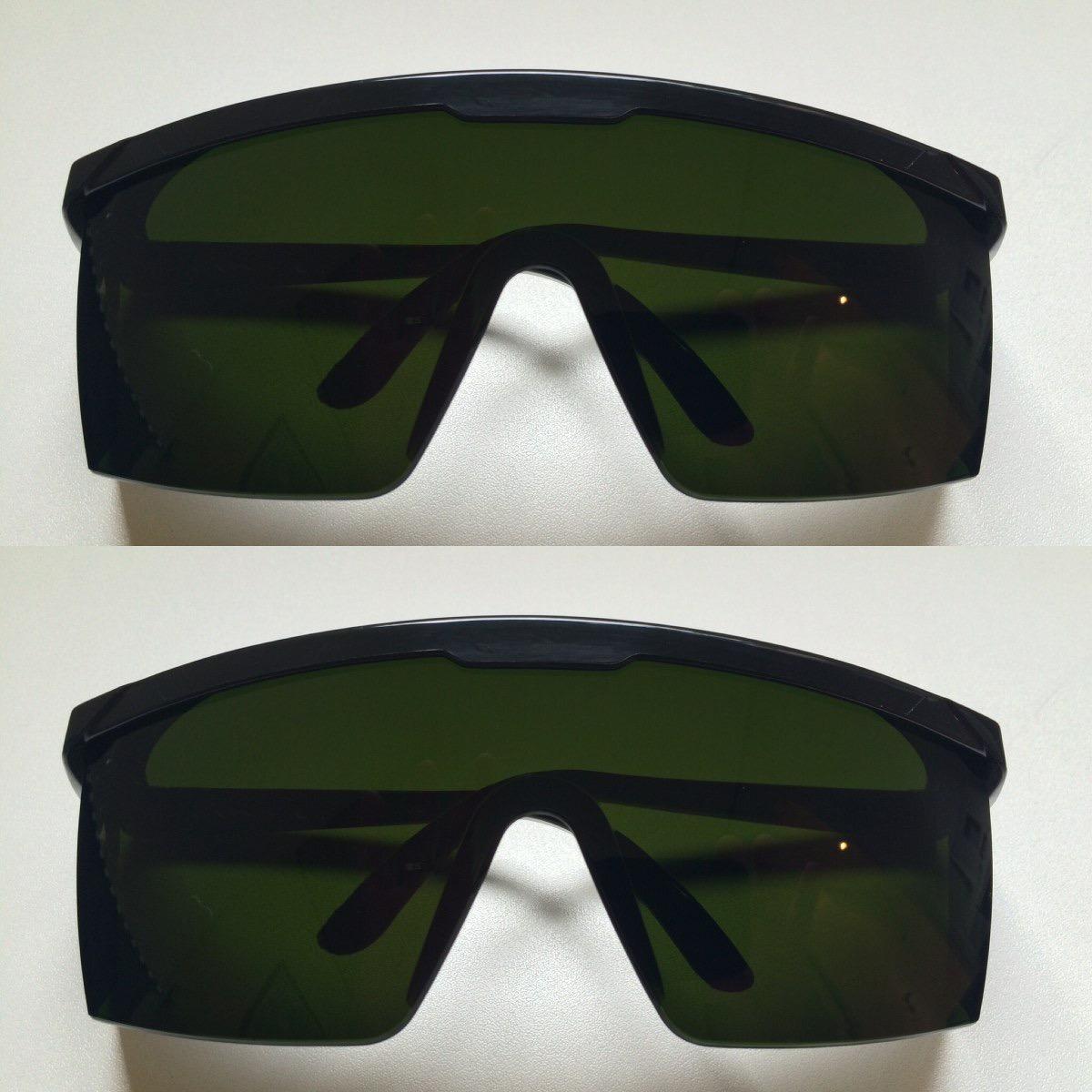 Oculos De Proteçao Contra Raio Laser E Luz Pulsada Ipl - R  120,00 em  Mercado Livre 50b669397e