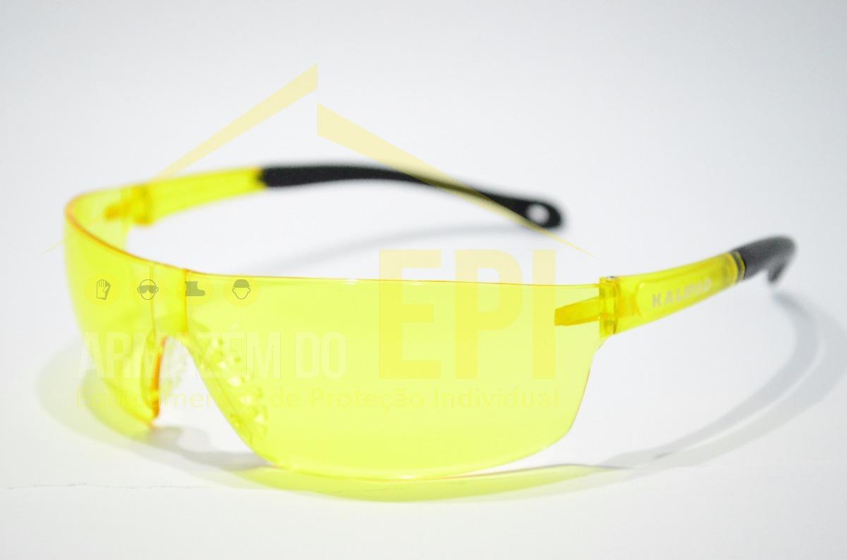 a96b5a4c96c9f oculos de protecao noturna uva uvb epi puma amarelo kalipso. Carregando  zoom.