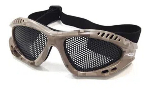 óculos de proteção airsoft kobra tela ntk nautika camuflado