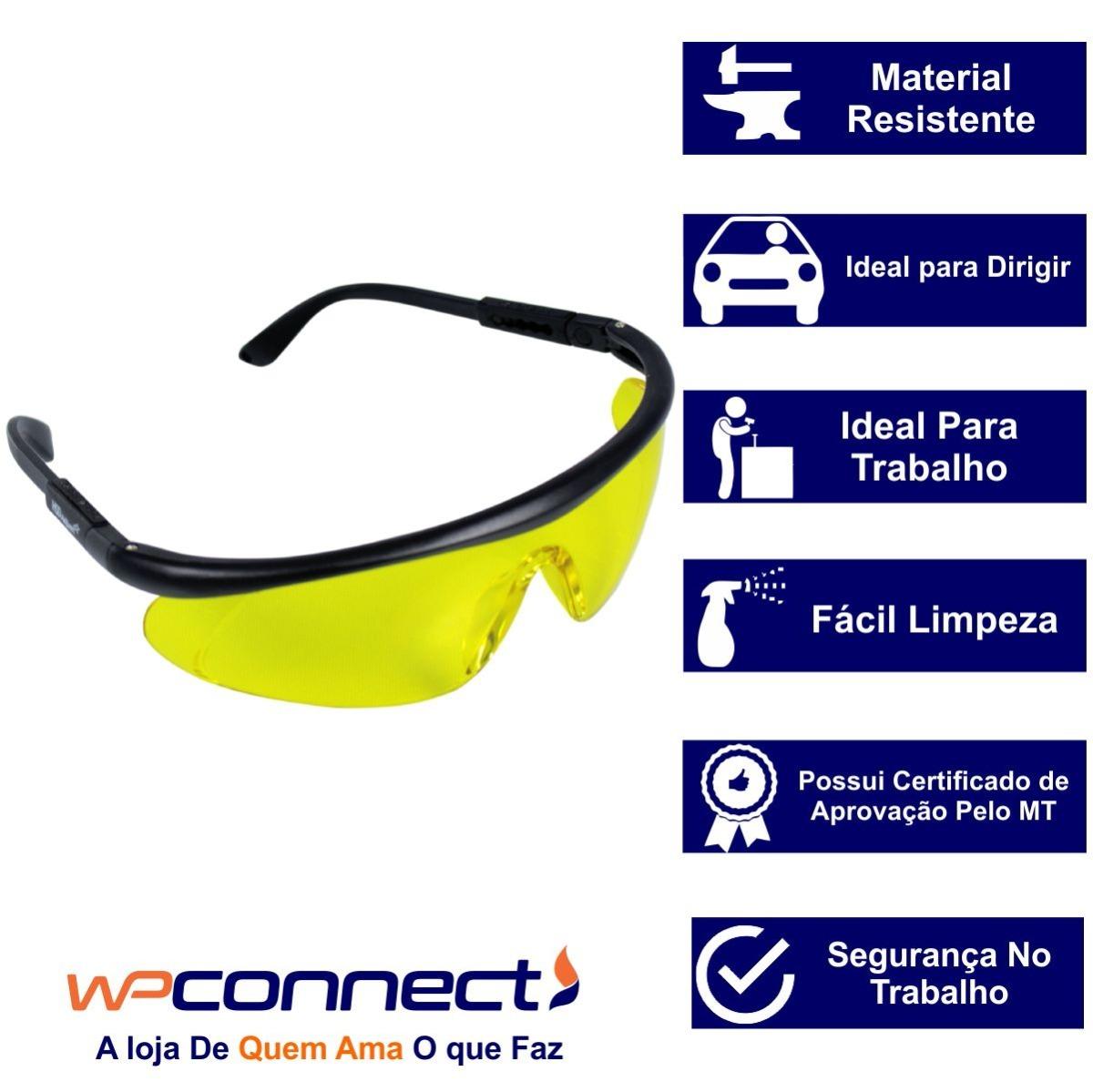 9099449379456 Óculos De Proteção Ajustável Segurança proteção epi - R  41,40 em ...