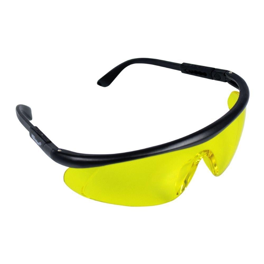 0e67853360fa0 Óculos De Proteção Amarelo Ajustável Epi Motorista - R  71,80 em ...