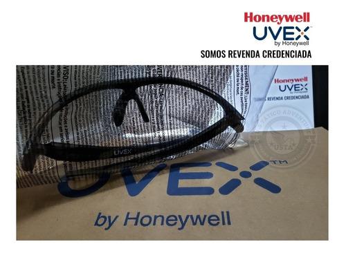 óculos de proteção balístico tático linha exito uvex incolor