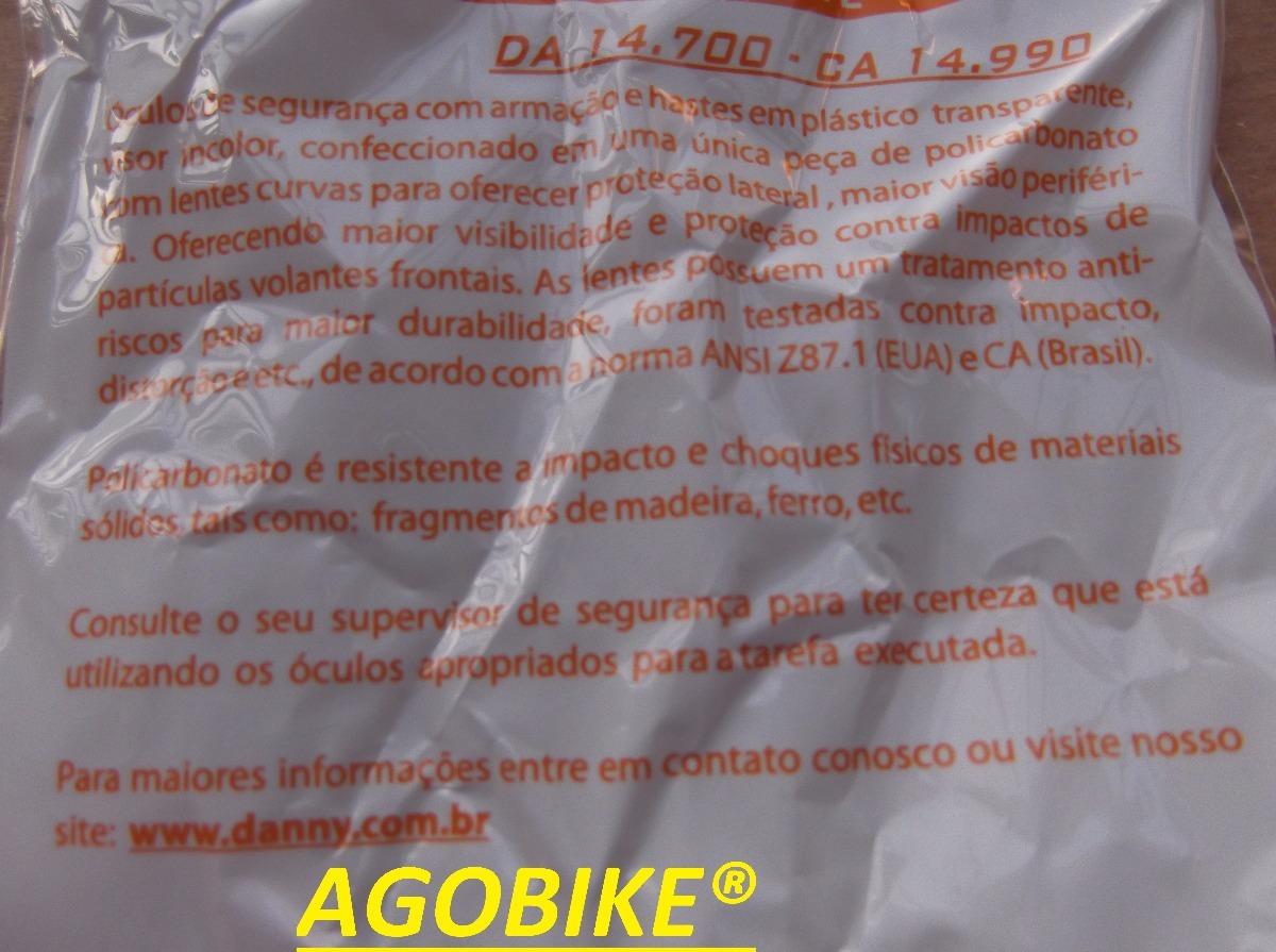 óculos de proteção danny águia - incolor manutenção bike. Carregando zoom. 50a85426e4