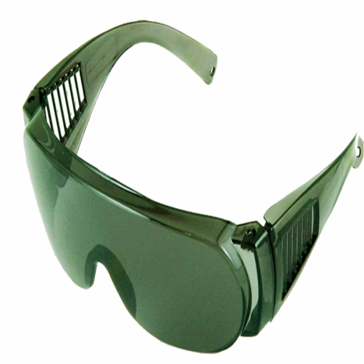 Óculos De Proteção Epi Segurança Panda Verde Uva Uvb - R  12,99 em ... cf97b7e1af