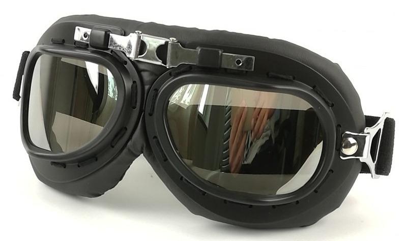 06e4b4c5c51ce Óculos De Proteção Goggles Estilo Retro Aviador Motoqueiro - R  89 ...