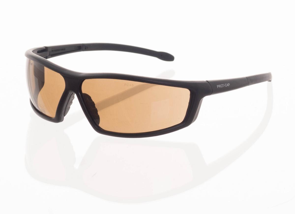 6903d6b8e14a7 Oculos De Proteção Grab Soft Lente Marrom - R  17