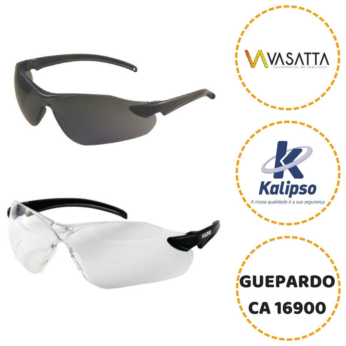 Óculos De Proteção Guepardo Kalipso - R  24,50 em Mercado Livre a60ea380ed