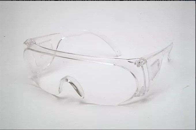 35e6fabc5f4c9 Óculos De Proteção Incolor Panda Kalipso - R  13,00 em Mercado Livre