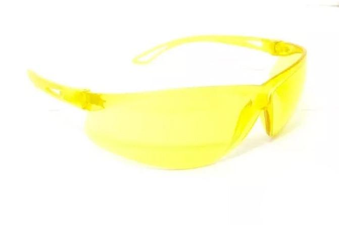 d51792e956857 Óculos De Proteção Msa Sparrow Amarelo Anti-risco Ca 18069 - R  16 ...