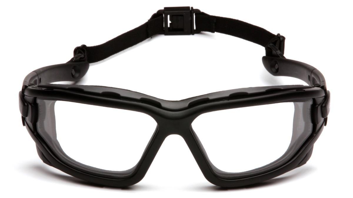 1f451152d81c4 Óculos De Proteção Pyramex I-force Lente Clara Dupla Airsoft - R ...