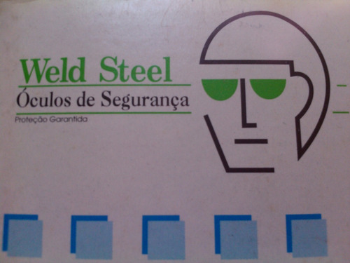 Óculos De Proteção   Segurança Weld Steel - R  35,00 em Mercado Livre 6b8eb5f224