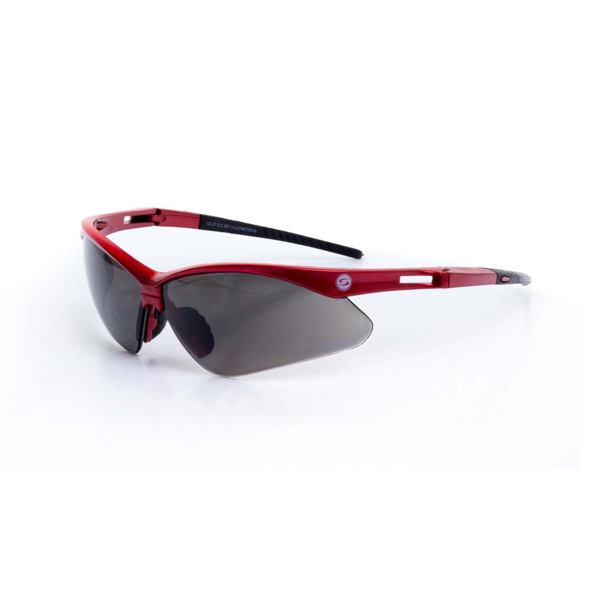 53225556c1a06 Oculos De Proteção Ss7 Lente Cinza Super Safety- Ca 27512 - R  24