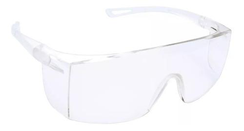 óculos de proteção total policarbonato incolor sem metal