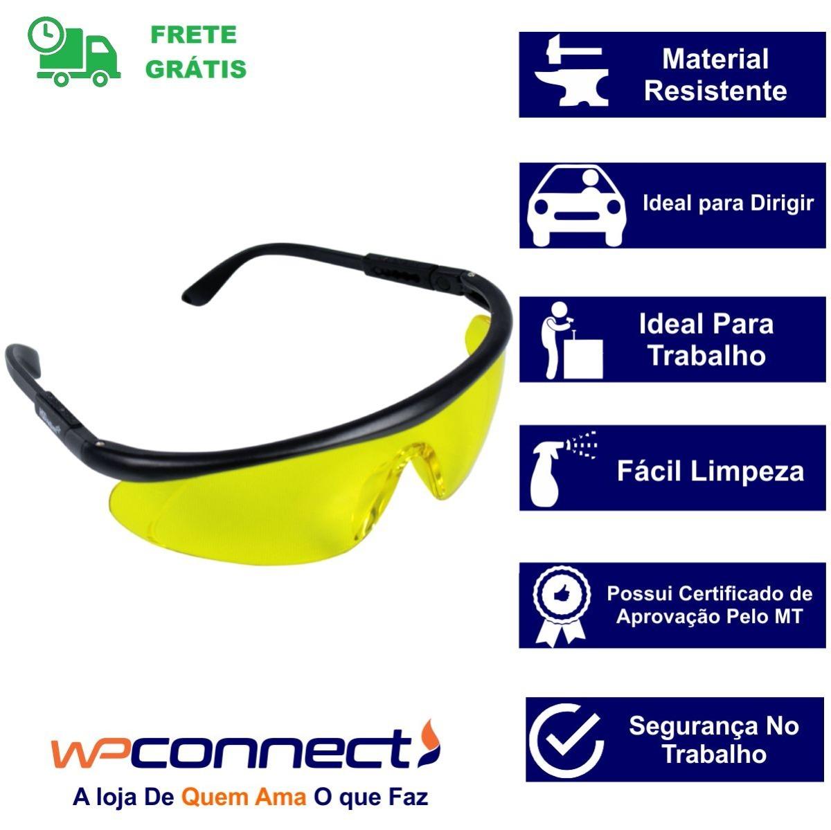ac83690390bc0 óculos de proteção epi regulável caminhoneiro motorista. Carregando zoom.