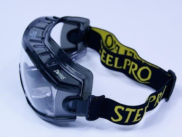 6ed55a33418ab Óculos De Segurança Ampla Visão Incolor Everest - R  32