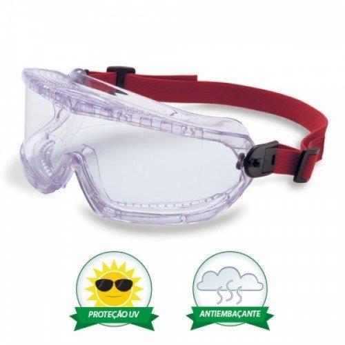 6ff6eeb6e2ed9 Oculos De Segurança Ampla Visão Mod. V-maxx - Uvex - R  40