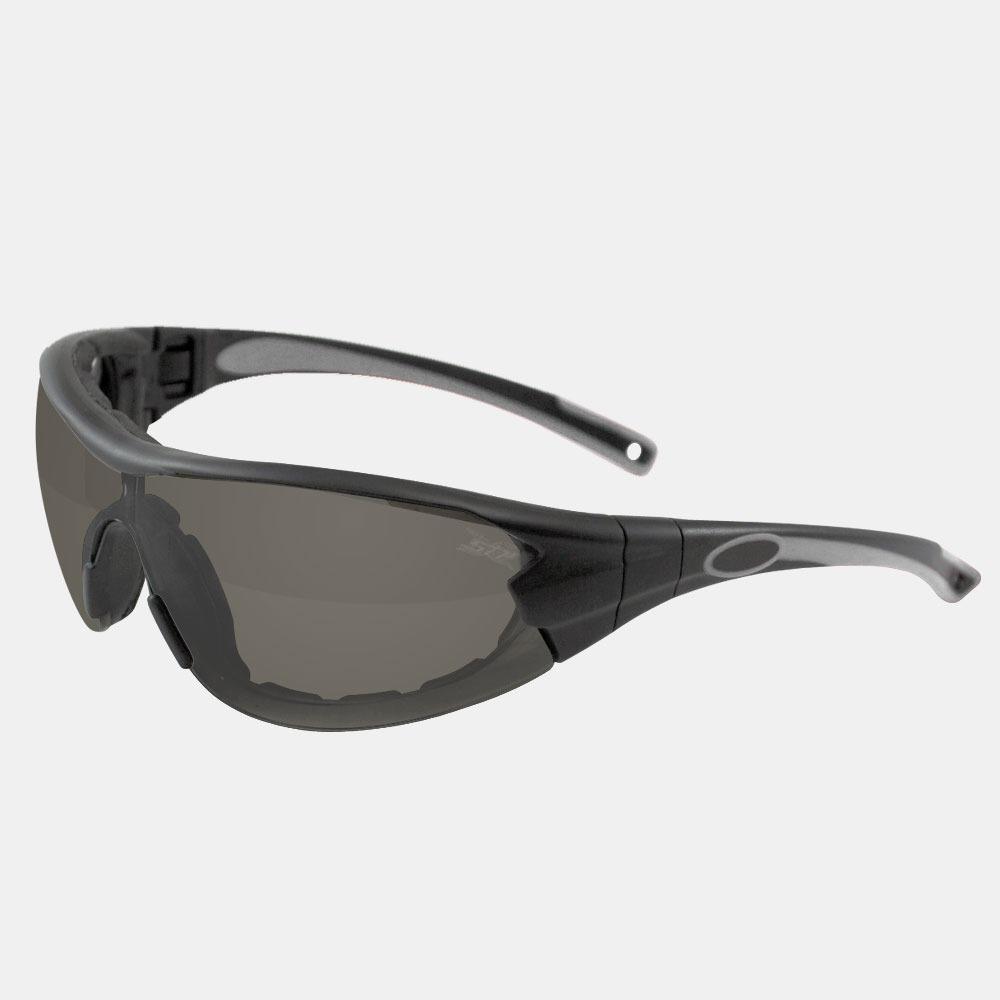 2c8376becfc30 Óculos De Segurança Delta Militar Vicsa   Cor  Cinza (fumê) - R  48 ...