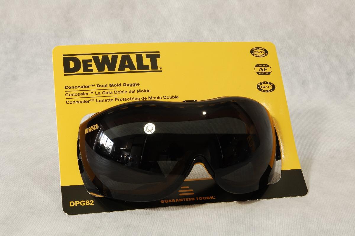Oculos De Segurança Dewalt Dpg82-21c Smoke Anti-fog - R  190,00 em ... e7b650a1d4