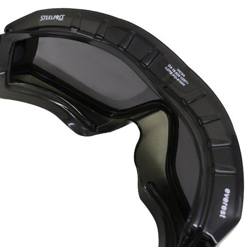 eaf701d15d6ca Óculos De Segurança Everest Ampla Visão Cinza-steel Pro-ever - R  24 ...