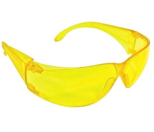 06c28fff0c5ee Oculos De Segurança Leopardo Amarelo Kalipso - R  13,50 em Mercado Livre