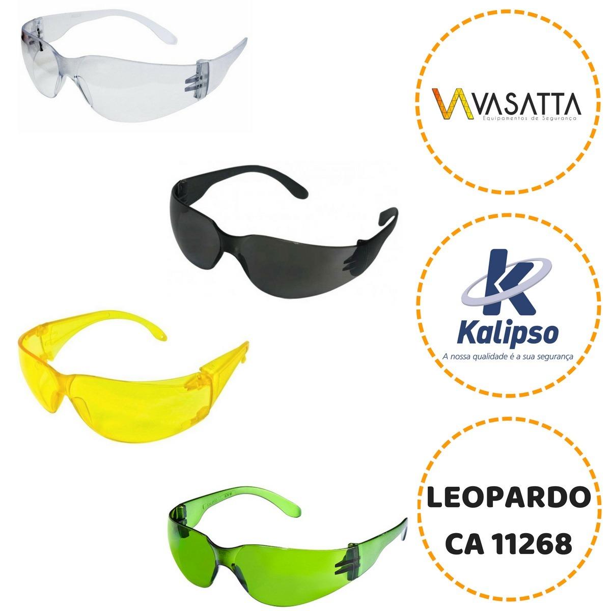 oculos de segurança leopardo kalipso caixa com 12 unidades. Carregando zoom. cbfc3b1a81