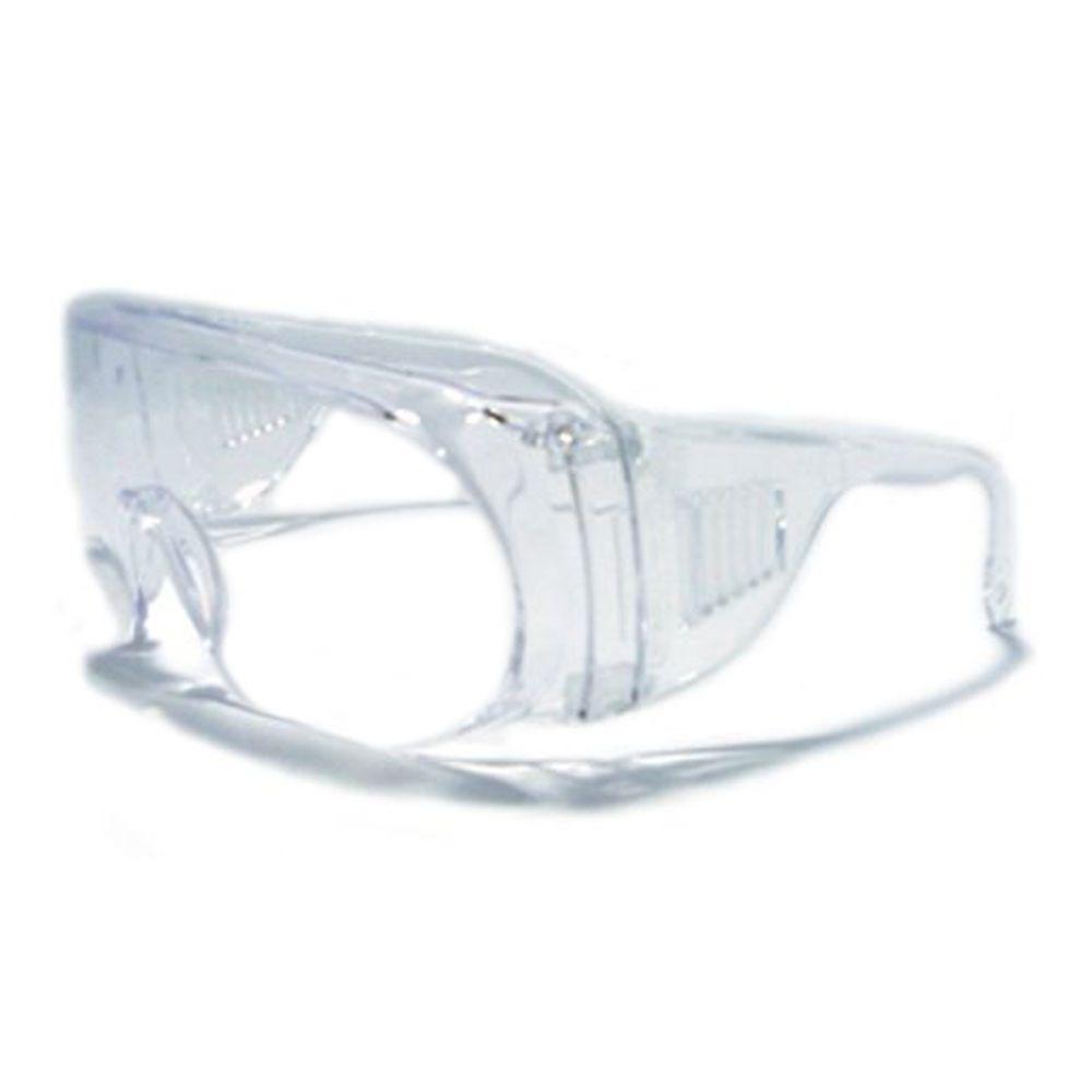 54e5b67e9d741 Óculos De Segurança Sobrepor Panda Incolor Kalipso - R  11