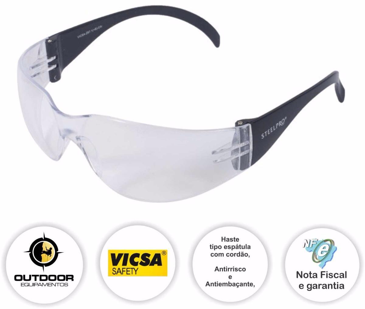 Óculos De Segurança Spy Corrida Ciclismo Vicsa - R  10,30 em Mercado Livre 6d320e40eb