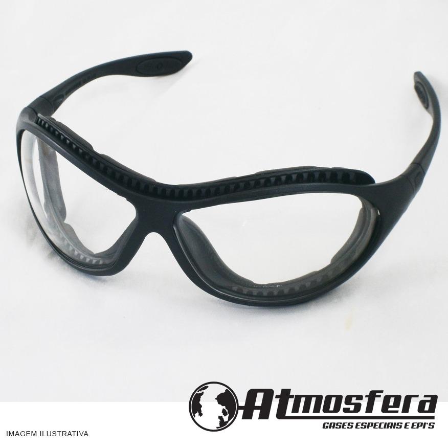 Óculos De Segurança Spyder Carbografite Transparente - R  22,00 em ... 321cc20e4a