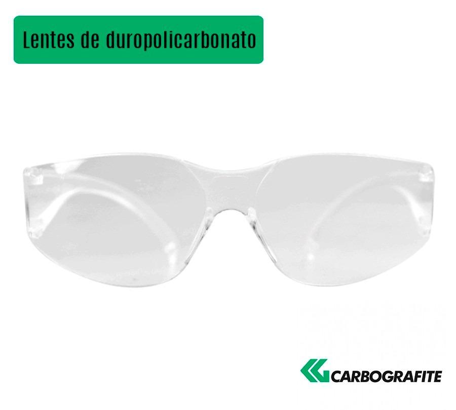 99ccb7af32811 óculos de segurança super vision - incolor - carbografite. Carregando zoom.