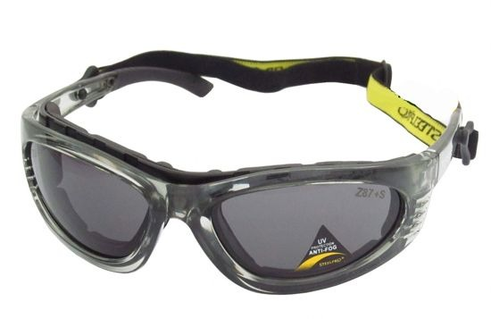 340a799bd289e Óculos De Segurança Turbine Anti Risco Antiembaçante Vicsa - R  35 ...