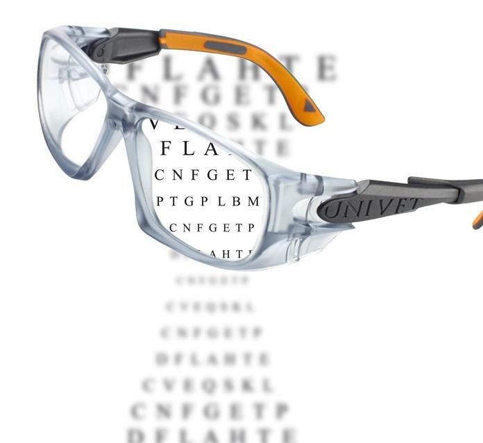 Óculos De Segurança Univet (5x9) Com Ca Perfeito Para Grau - R  64,99 em  Mercado Livre 8ef5b0458d