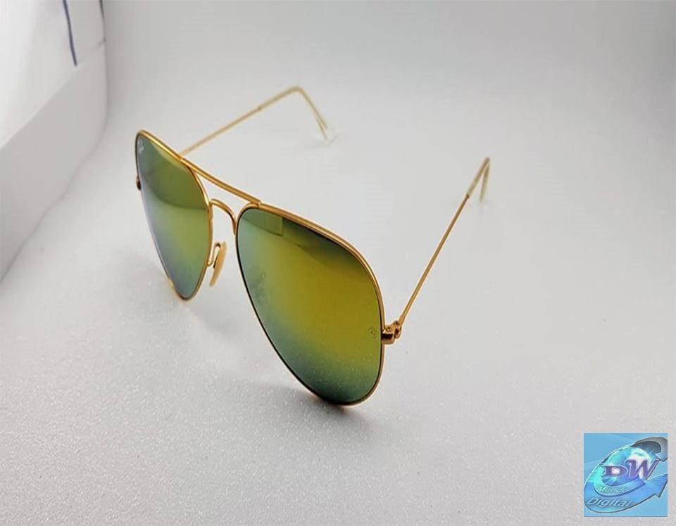 38c53cd17 Óculos De Sol 2019 Ray-ban Aviador + Super Brinde + Oferta - R$ 199 ...